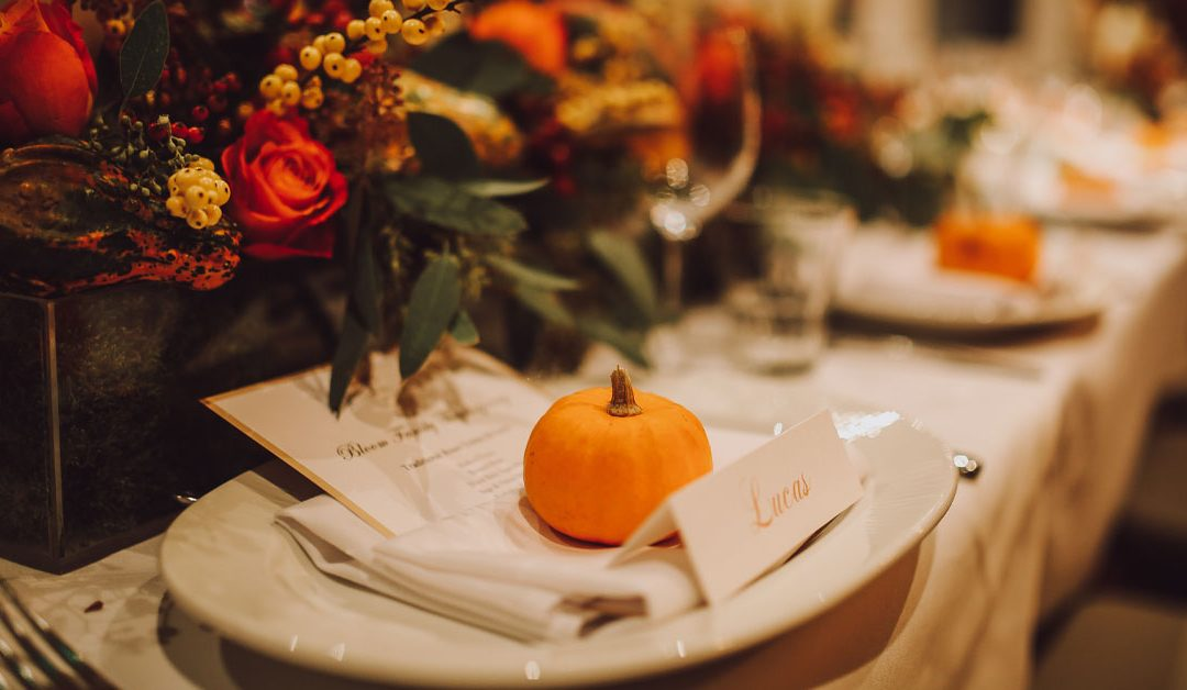 Decorating Tips for Your Thanksgiving Table