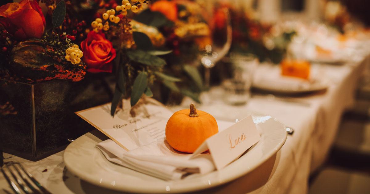 thanksgiving table interior design ideas