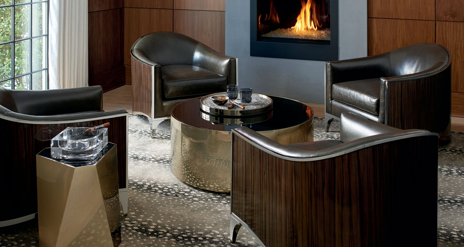 Accent Chairs and Tables - Caracole - Custom High Quality Furniture Store Birmingham Michigan