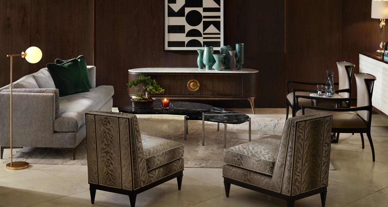 Beautiful Living Room Set Custom Interiors Idea - High Quality Furniture Store Birmingham Michigan