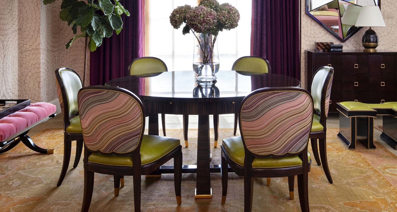 Dining Room Set Theo Alexa - Custom High Quality Furniture Store Birmingham Michigan