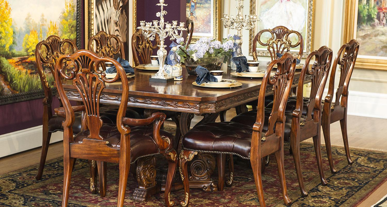 Birmingham Design Studio Dining Room Set - Custom High Quality Furniture Store Birmingham Michigan