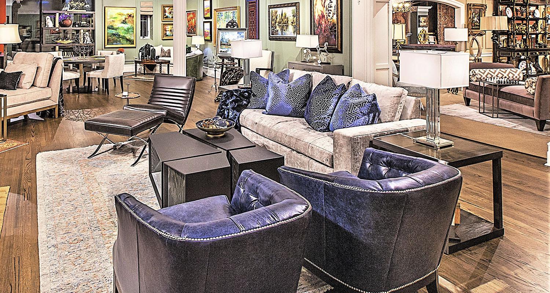 Birmingham Design Blue Accent Chairs Living Room Sets - Custom High Quality Furniture Store Birmingham Michigan
