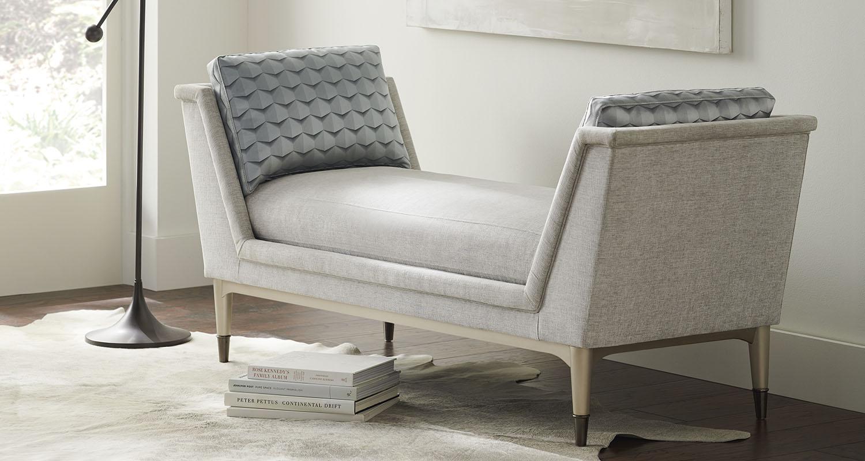 Caracole Chaise Lounge - Custom High Quality Furniture Store Birmingham Michigan