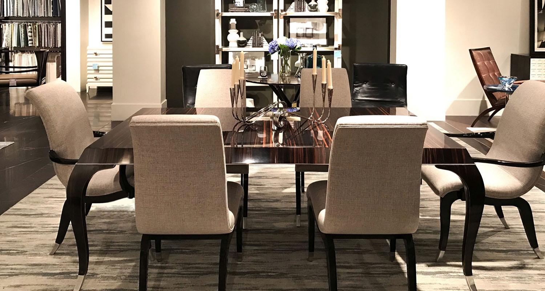 Theo Keno Modern Wood Dining Room Set- Custom High Quality Furniture Store Birmingham Michigan