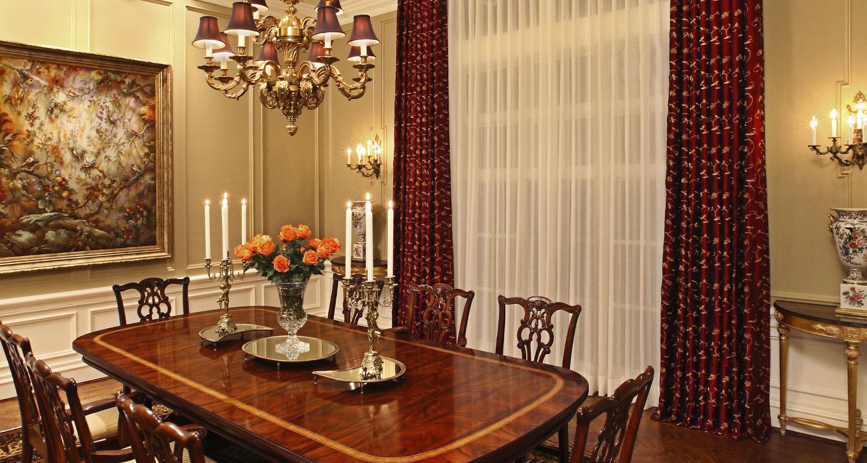 Interior Design Formal Dining Room Birmingham Michigan