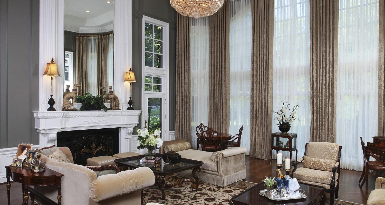 Interior Design Formal Living Room Birmingham Michigan