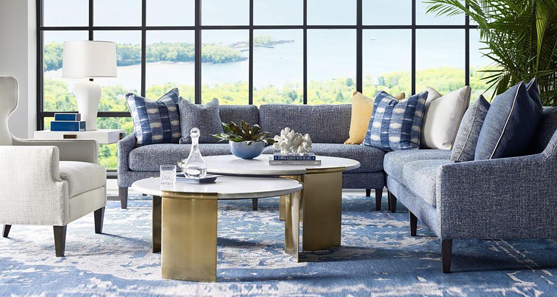 Living Room Set - Sherrill - Lilliam August - Theo Custom High Quality Furniture Store Birmingham Michigan
