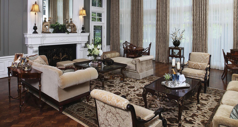 Formal Living Room Furniture - Living Room Set - Custom High Quality Furniture Store Birmingham Michigan