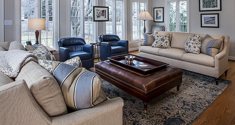 Interior Design Family Room Birmingham Michigan