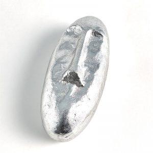 Abstract Silver Face Box