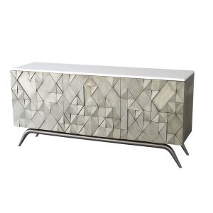 Triangle Buffet Table
