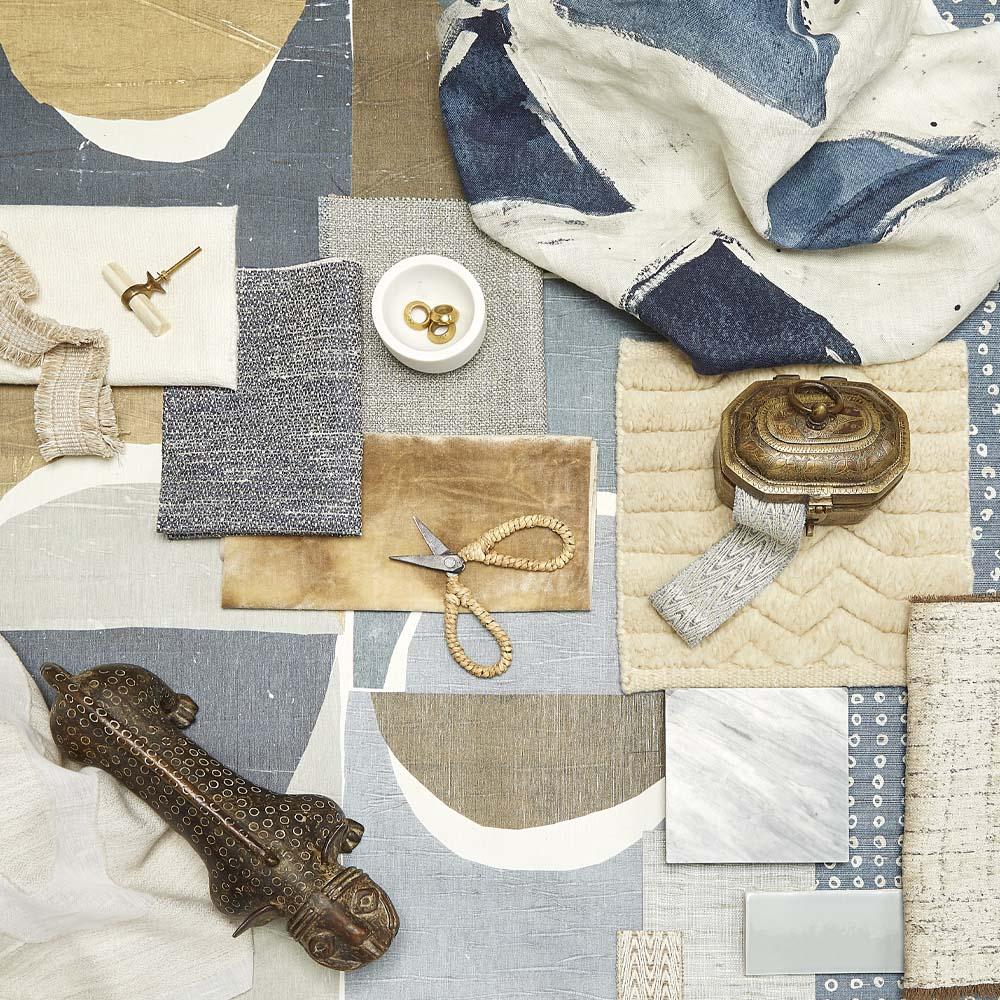 interior design fabric selection